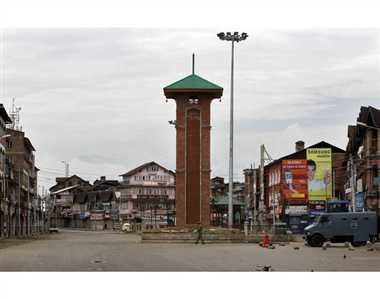 Terrorist attack on lal chowk