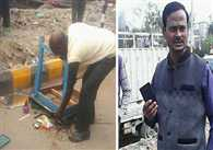 Junior Engineer Manhandled Old Barber In Lucknow