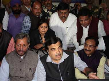 Cabinet Minister Nitin Gadkari announced roads of 25 crores for Uttarakhand