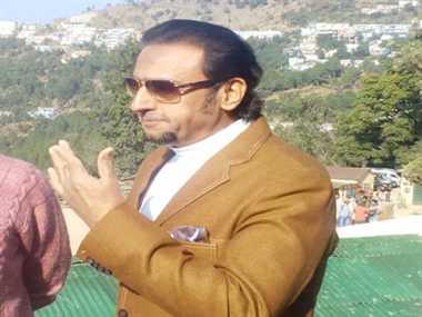Gulshan Grover at Uttarakhand for shooting of pampapur ki ramleela