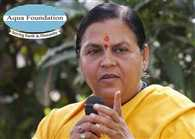 need to pay attention water conservation,says uma bharati
