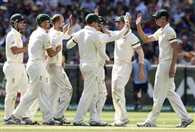 Australia 90/1 at lunch; lead by 155