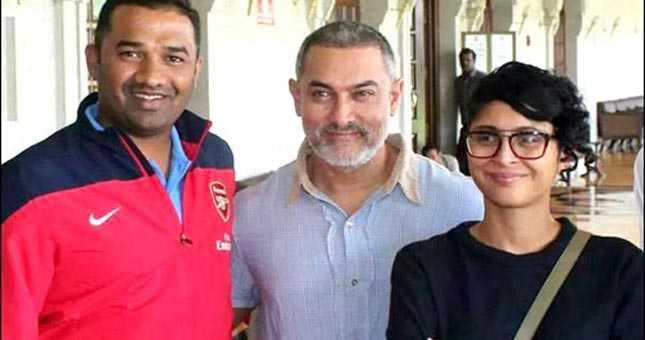 Aamir Khan's look from his next film, Dangal!