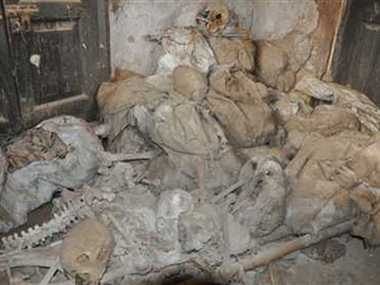 Over 100 human skeletons found in Unnao Police station