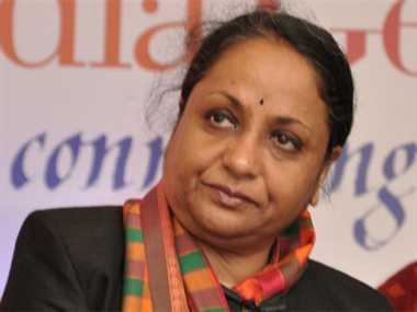 PM Narendra Modi was unhappy with former foreign secretary Sujatha Singh
