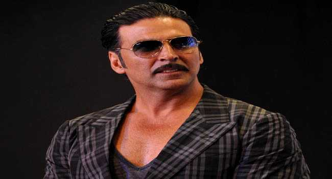 Akki exited for his new film singh is blink