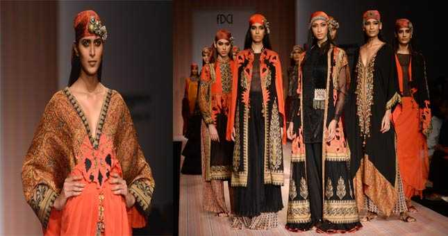 Ashima-Leena showcased thier Fall/Winter collection inspired from tribe