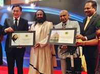 Sri Sri Ravi Shankar was conferred the prestigious Asia Pacific Brand Laureate  Award