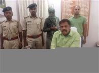 दो किलो अफीम के साथ एक गिरफ्तार
