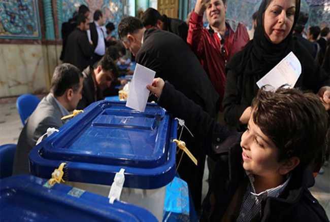 Iran election ,hassan Rouhani ,parliament election ,Jagran news,संसद,रूढि़वादी,बोलबाला