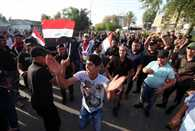 Thousands of protesters break into Baghdad 'Green Zone