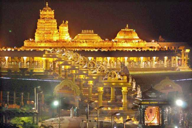 Tirumala Tirupati Devasthanam mulls moving Seven and half tonne gold under monetisation scheme