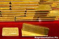 gold and other precious items recovered from trafficker house