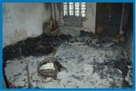 सुकमा में तैनात जवान के घर को चोरों ने फूंका