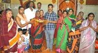 कुंभारपाड़ा शीतलषष्ठी यात्रा के लिए थाल उठावन