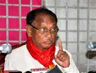 Former Odisha CM Giridhar Gamang resigns from Congress