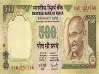 currency printed on indian paper