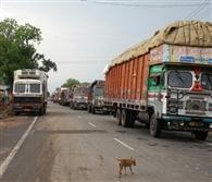 11 घंटे जाम रहा अलीगढ़ हाईवे, सोती रही पुलिस