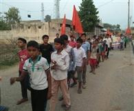 व्यायाम, चरित्र निर्माण चेतना रैली निकाली