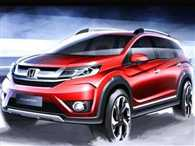 Honda releases sketches of the BR-V compact SUV