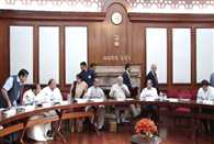 PM took cabinet meeting in Parliament house premises