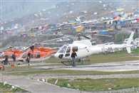 governor made an aerial survey of Pahalgam-Panjtarni route