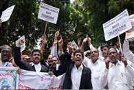 judges movement continues in telangana