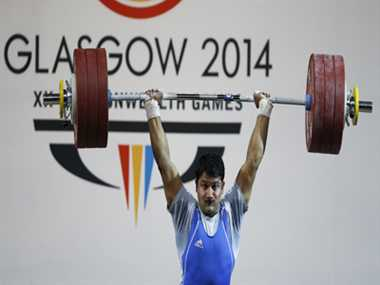 Weightlifter Mali wins bronze while Indian boxers have a dull day