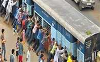 Passangers Pushed Out Of Order Train To Yard In Mathura