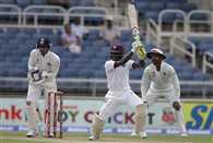 Jermaine Blackwood plays a rapid innings in Jamaica test