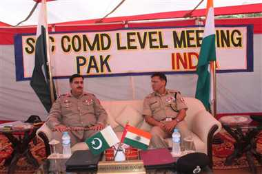 India lodges strong protest with Pak over ceasefire violations