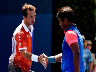 Paes and Stepanek pair in pre-quarters of US Open