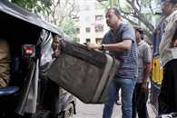 Peter Mukherjee,s garage  recovered suitcase