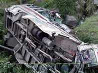 Five killed in bus accident, 24 injured