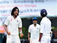 Ishant Sharma takes five wickets to take down Sri Lanka in first innings