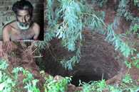 Drunk man dropped in the well out  alive after 8 days