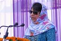 mehbooba mufti address people in jammu and Kashmir