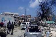 Car bomb explodes near presidential palace in Somali capital Mogadishu