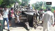 8 dead, 20 hospitalised after a tractor carrying 30 people turned turtle