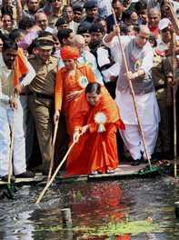 gomati will be as clean as sabarmati