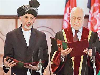 ashraf gani become a president of afganistan, give invitation to taliban