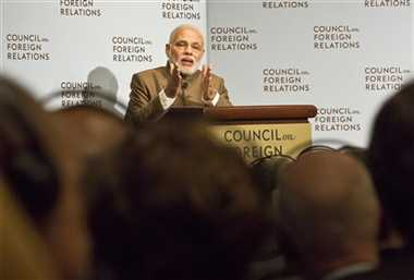 PM Modi raises the issue of terrorism at CFR