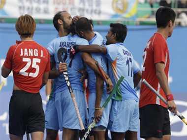 India defeat Korea to enter Asiad hockey finals