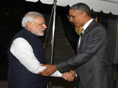 PM Modi reached White House, obama asks, how are you mister prime minister