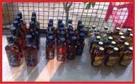 police caught wine of hariyana