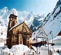 heavy snofall in kedarnath