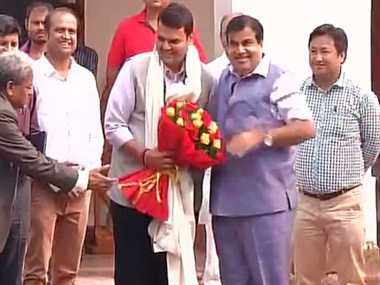 devendra fadnavis arrives delhi to meet high command