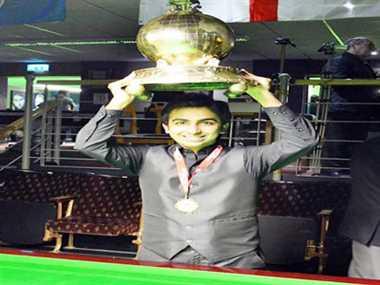 Advani win double titles in World Billiards Championship