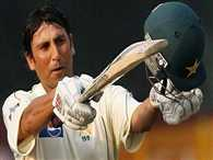 pakistan cricketer yunus khan third continuous century against australia