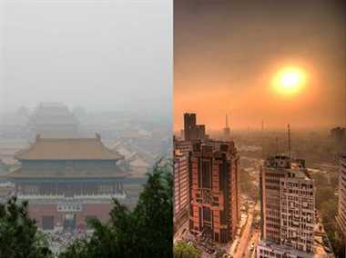 Bad pollution plagues both New Delhi and Beijing